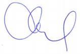 Signature André Duval
